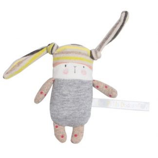 Nin Nin Rabbit Small Rattle Les Petits Dodos