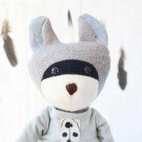 Gwendolyn Raccoon by Hazel Village Potrait