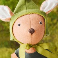 Hazel Village Elf Costume Potrait