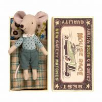 Maileg Big Brother Mouse with Matchbox