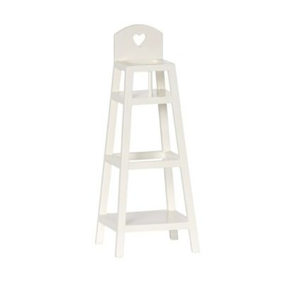 Maileg My Wooden High Chair Off White