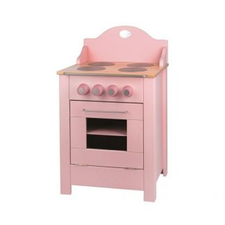 Moulin Roty Pink Wooden Play Stove