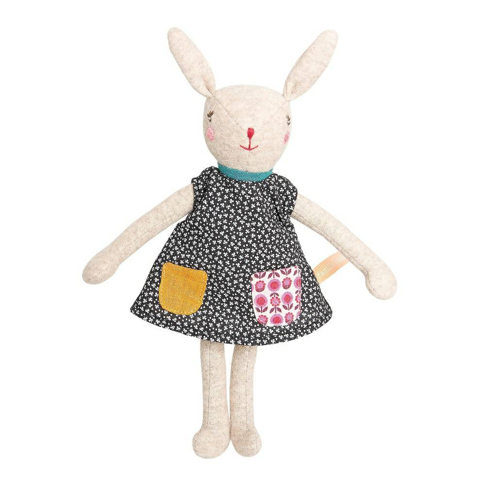 7096f79fb Moulin Roty La Famille Mirabelle Camomille Rabbit sister