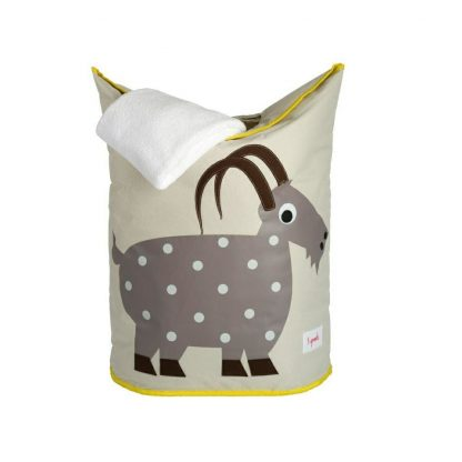 3 Sprouts Goat Laundry Hamper Towel