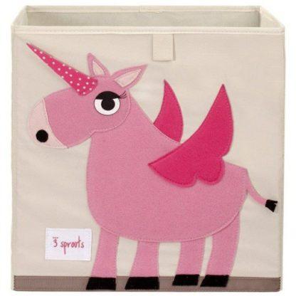 3 Sprouts unicorn storage box