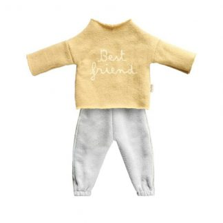 Maileg Best Friends Yellow Jogging Suit