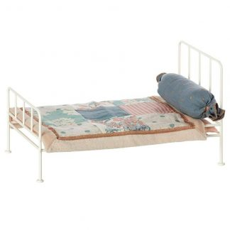 Maileg Metal off white mini bed