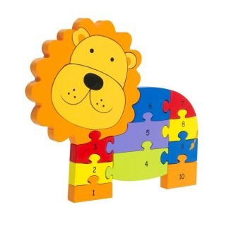 Number Lion Puzzle