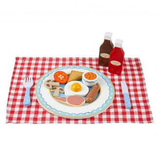 Wooden English Breakfast Set