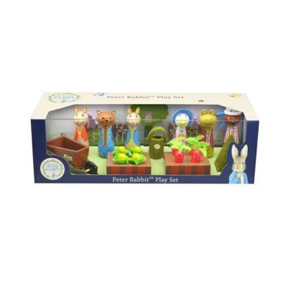 Wooden Peter Rabbit Play Set Packaging