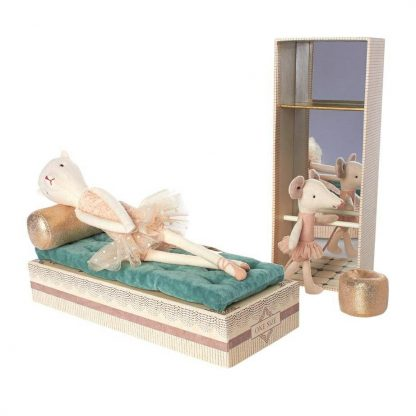 Ballerina Cat and Mouse Shoebox Play Set