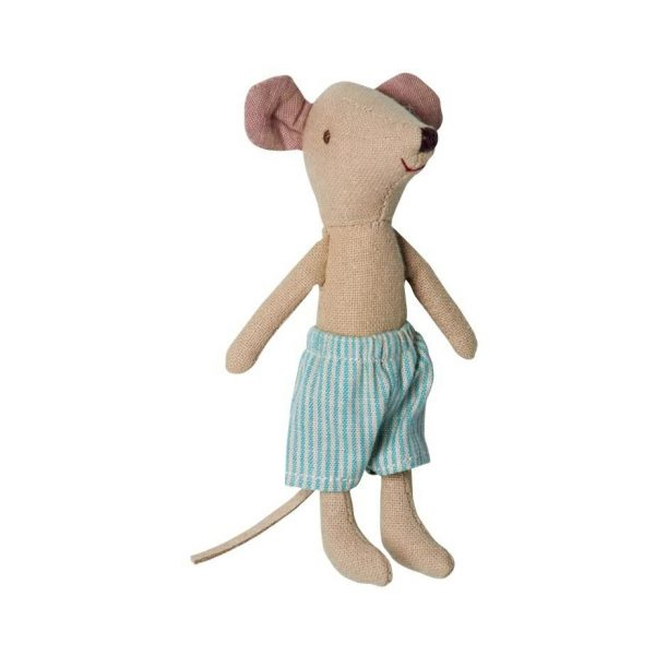 Big Brother mouse with blue shorts