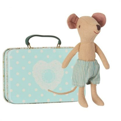 Big Brother Mouse with Travel Suitcase