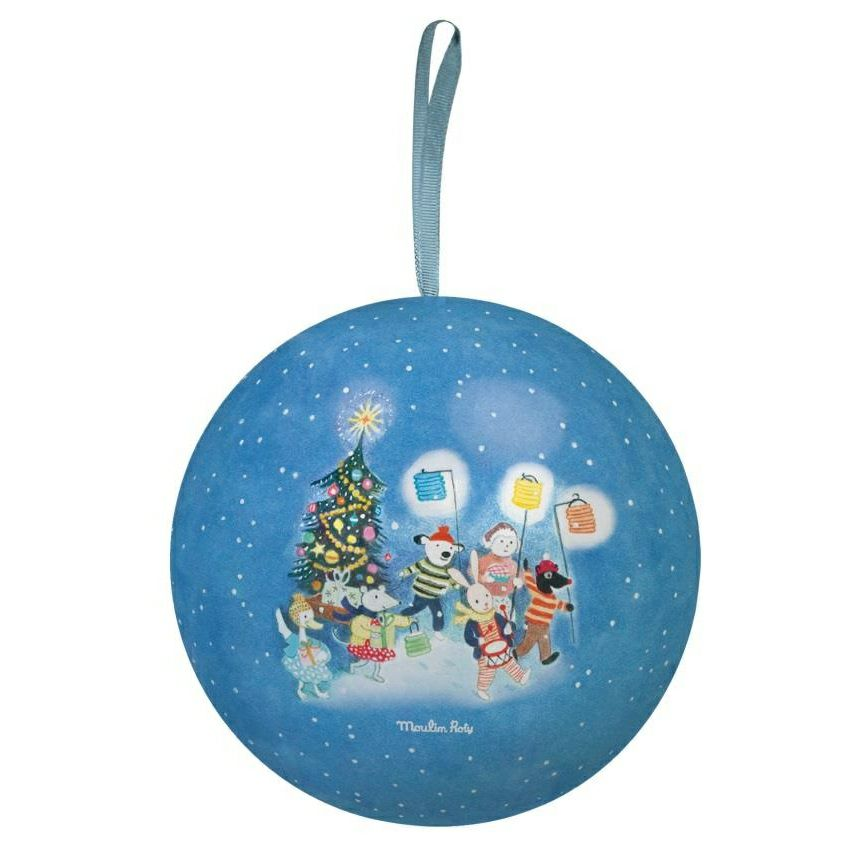 Grand Family Blue Christmas Bauble