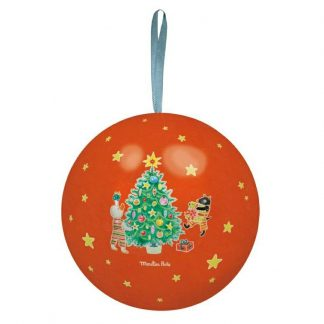 Grand Family Christmas Bauble Red