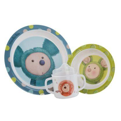 Les Zazous Baby Dish Set