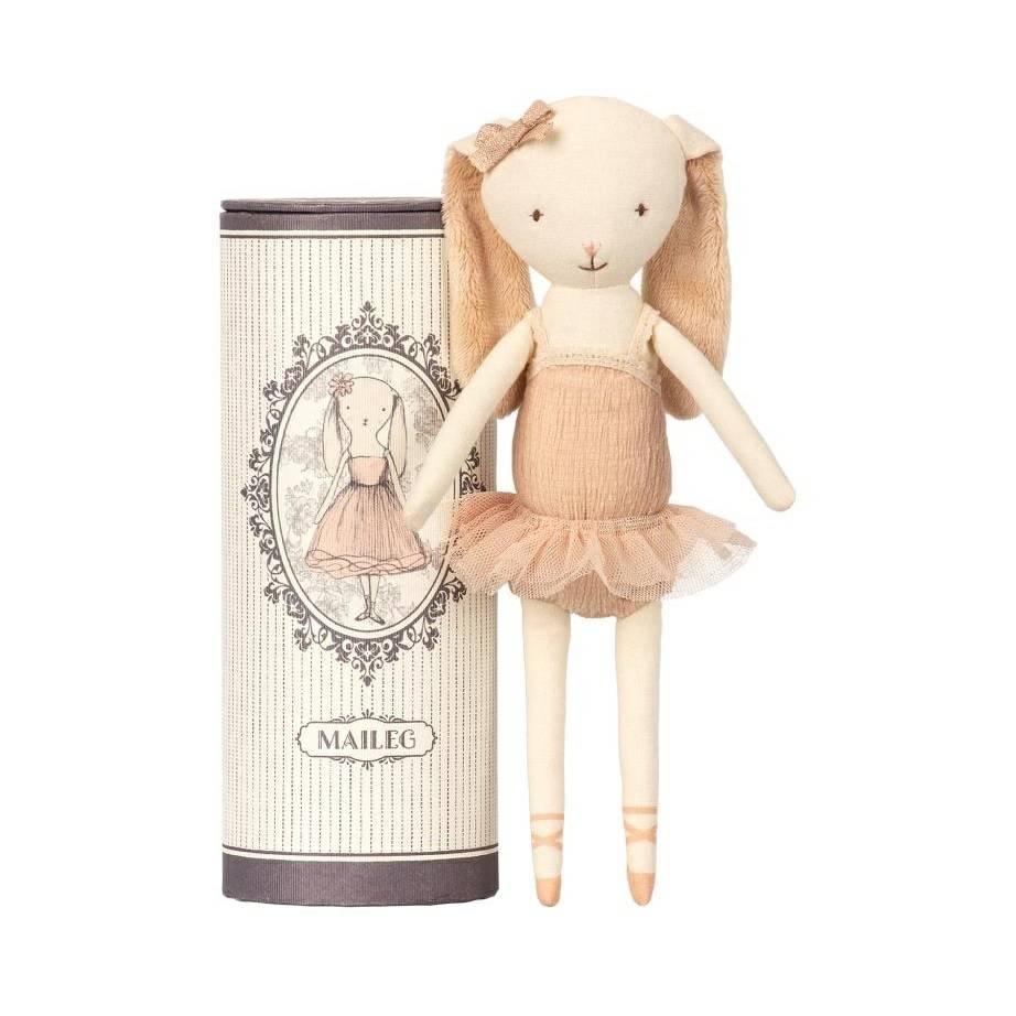 f4f3541e387db Maileg Dancing Ballerina Bunny in Tube