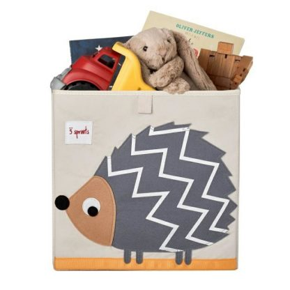 3 Sprouts Hedgehog Storage Box - Toys