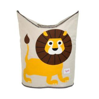 Lion Hamper Closed
