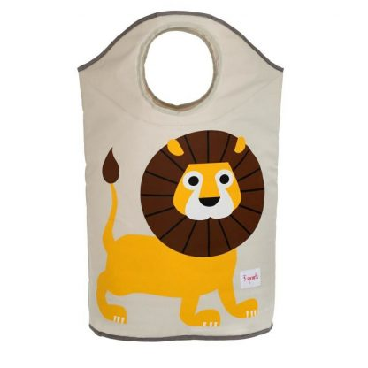 3 Sprouts Lion Laundry Hamper