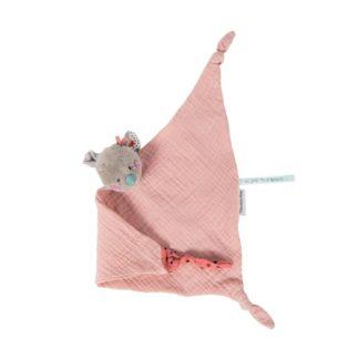 Les Jolis Trop Beaux Muslin Mouse Comforter