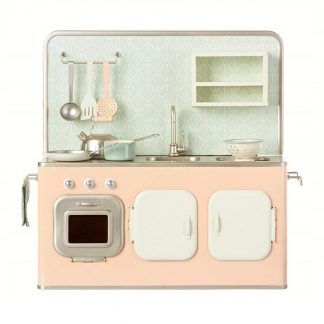 Maileg Powder Pink Metal Kitchen