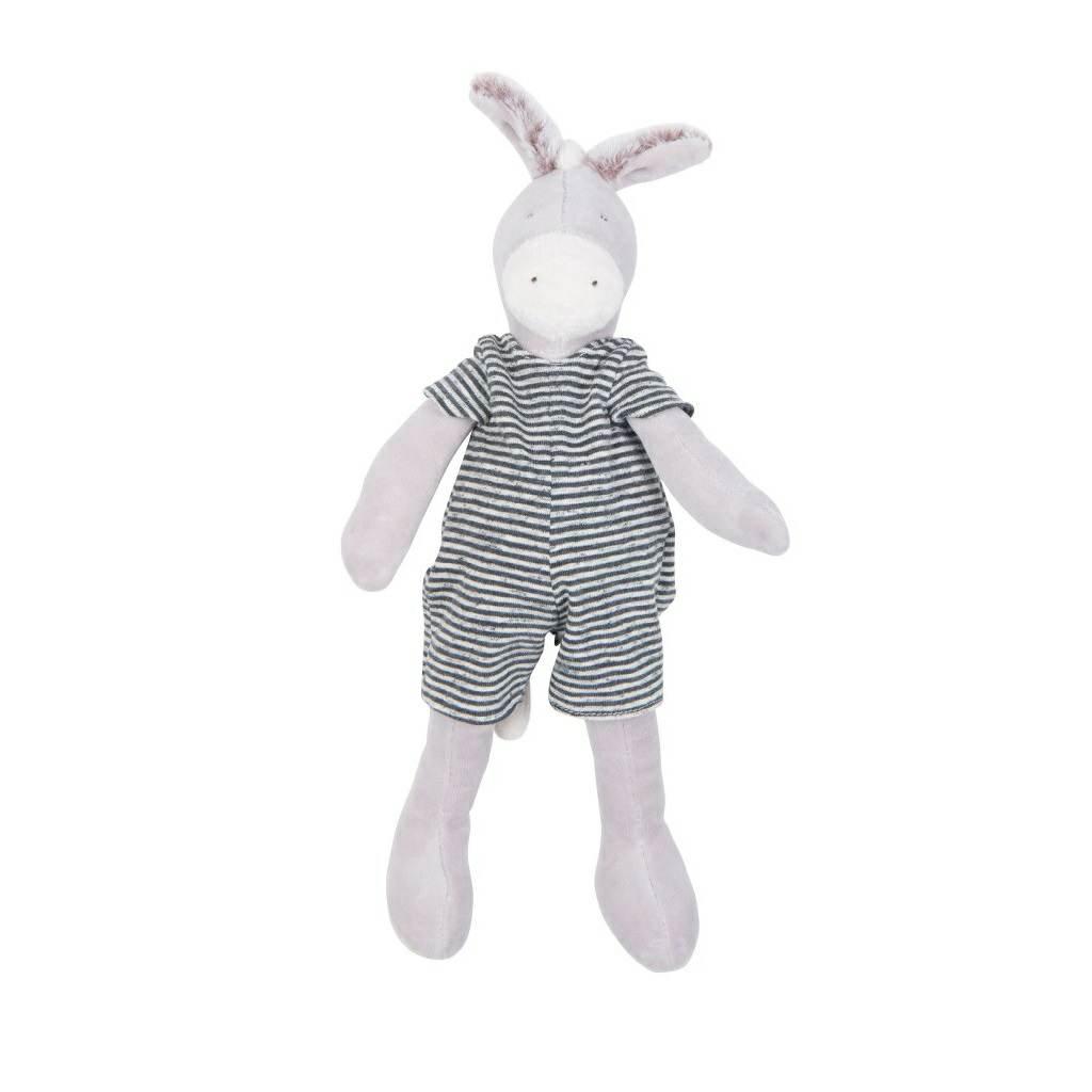 5a6ed56f5 Moulin Roty Grande Famille Little Barnabe Donkey 30cm