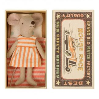 Big Sister Mouse in Matchbox Maileg