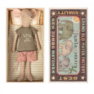 Medium Boy Mouse in Box Maileg