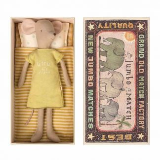 Maileg Medium Girl Mouse in Box