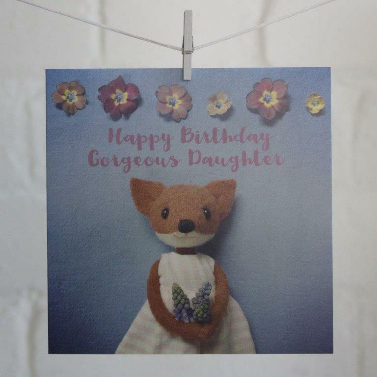 Pippi Me Happy Birthday Daughter Card RL8