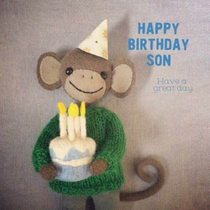 Happy Birthday Son Card