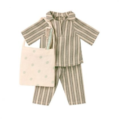 Maileg Medium Boy Mouse Sleep Over Set