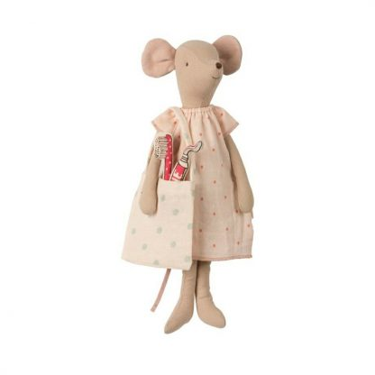 Maileg Medium Girl Mice Sleep Over Set