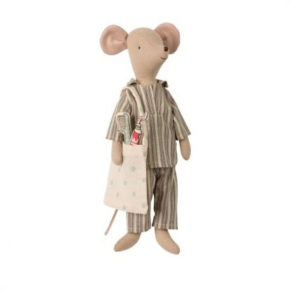 Medium Mouse Boy Sleep Over Set Maileg