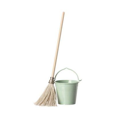 Maileg Mop and Bucket Set