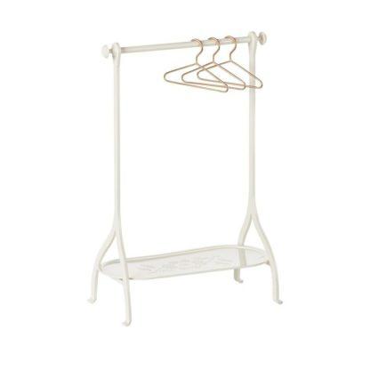 Maileg White Clothes Rack