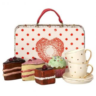 Maileg Metal Suitcase with Cakes