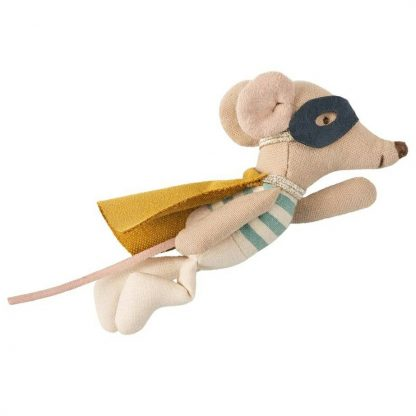 Maileg Little Brother Super Hero Mouse