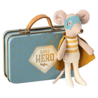 Maileg Little Brother Superhero Mouse