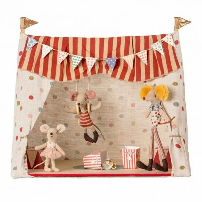 Maileg Circus Tent and Mice Play Set