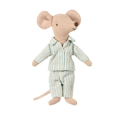Maileg Big Brother Matchbox Mouse in Pyjamas