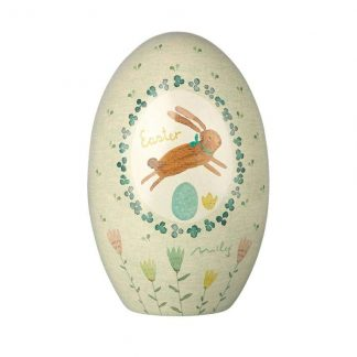 Maileg Metal Tin Egg Green