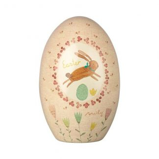 Maileg Metal Tin Egg Pink