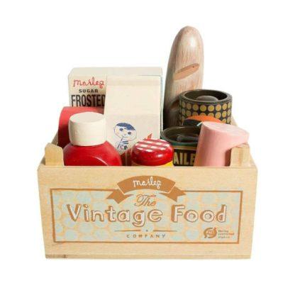 Maileg Vintage Food Grocery Box
