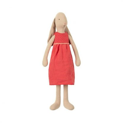 Maileg Size 3 Bunny Red Dress