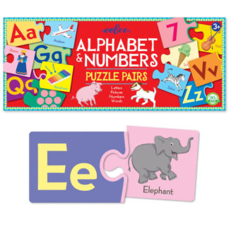 Alphabet & Numbers Puzzle Game