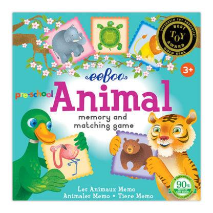 Animal Memory & Matching Game