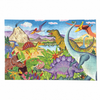Age of Dinosaur 100 piece puzzle
