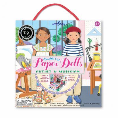Artist and Musician Paper Dolls